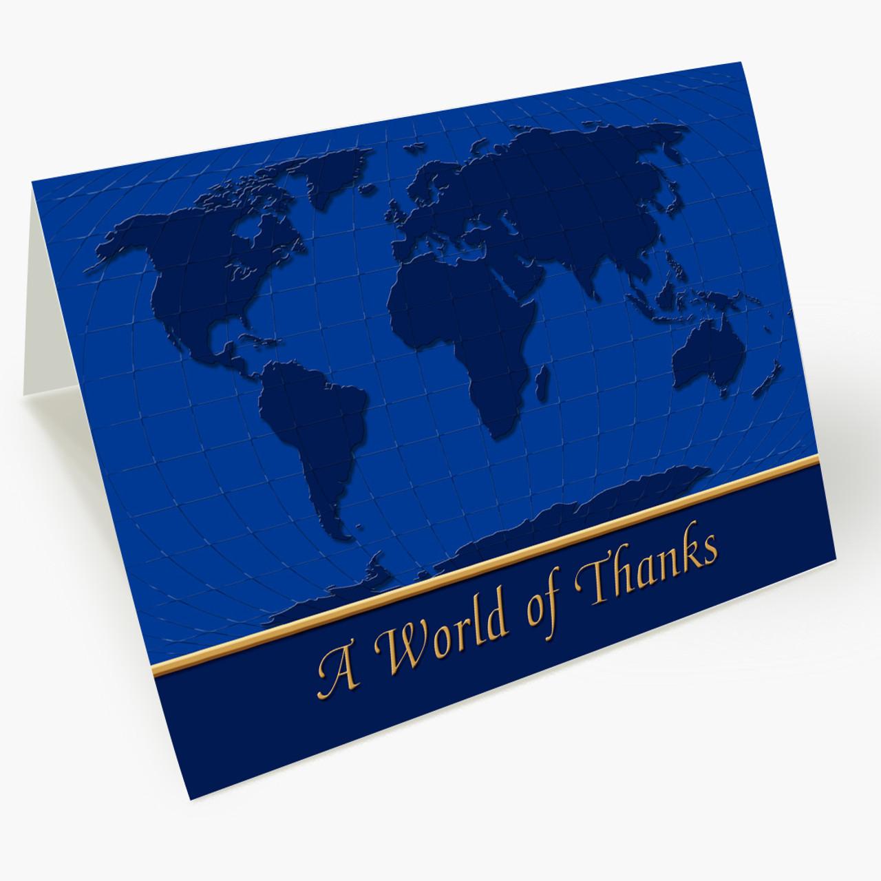 Global Thanks Christmas Card