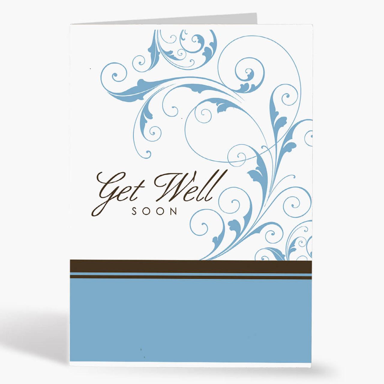 Budget Get Well Card