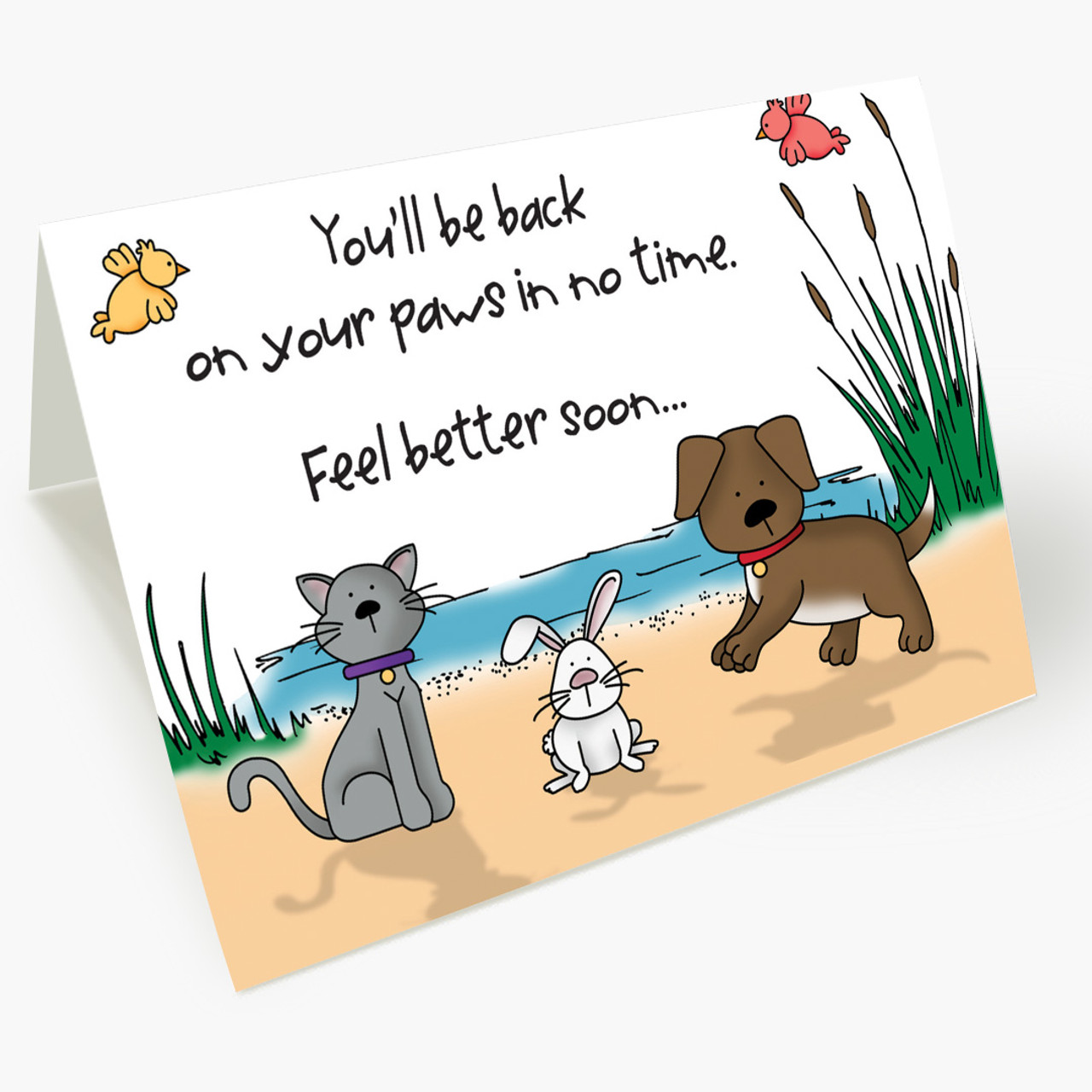 Brighter Days Pet Get Well Card