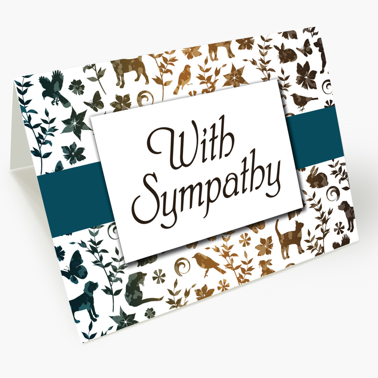 Wrapped With Sympathy Card