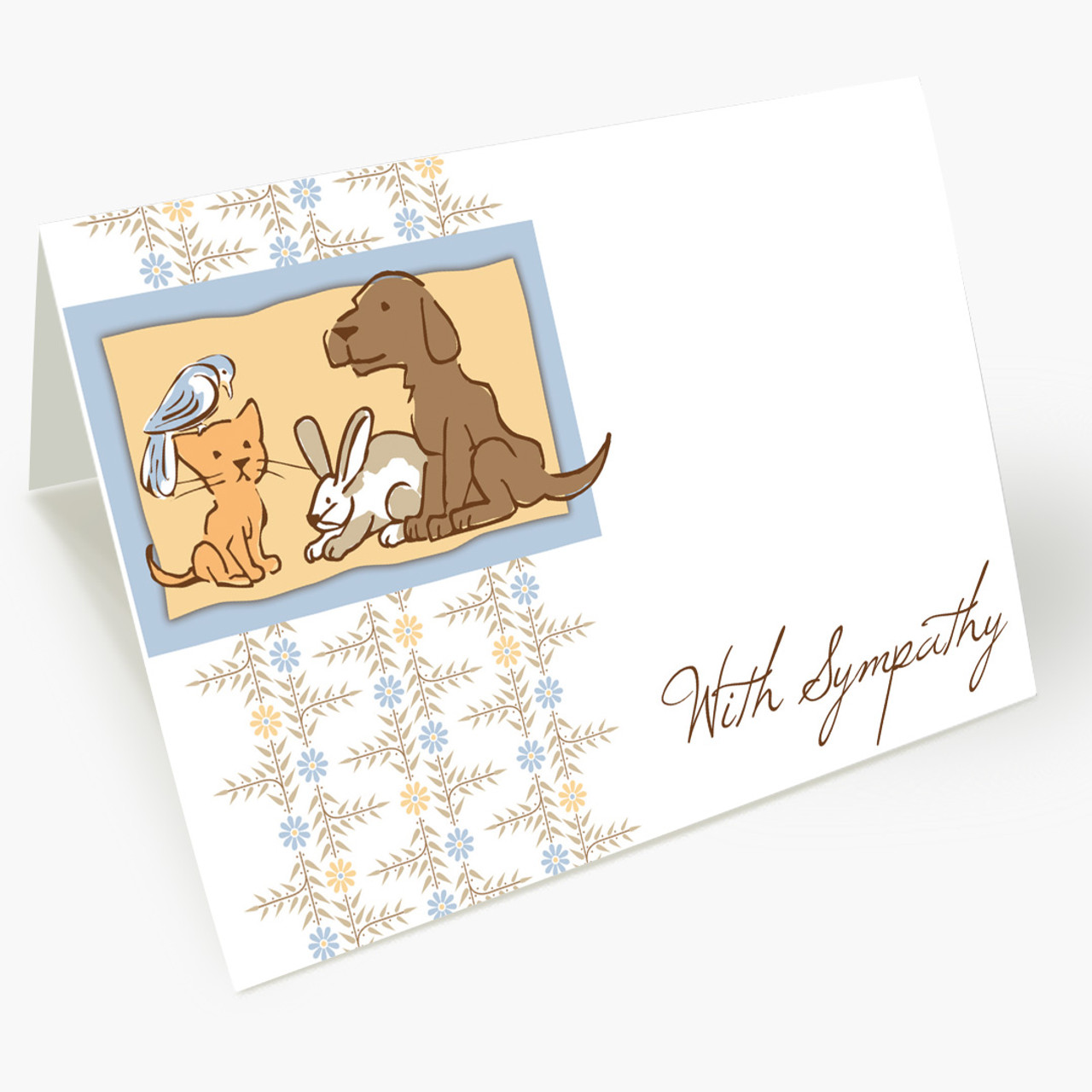 Remembrance Pet Sympathy Card