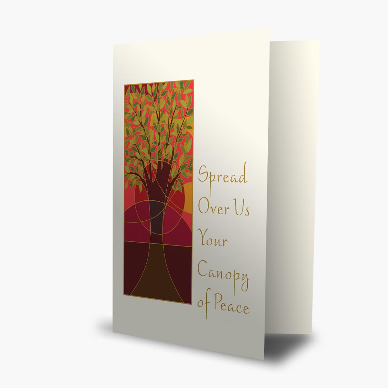Spread Peace Rosh Hashanah Card