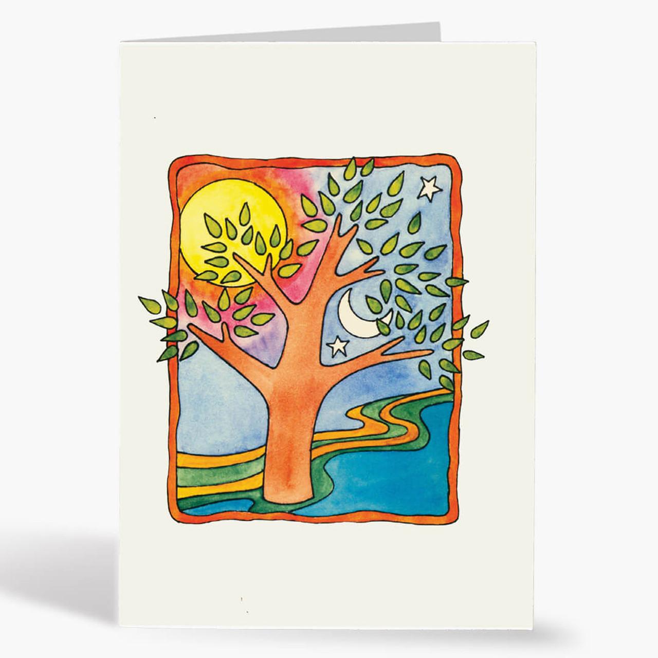 Peaceful Rosh Hashanah Card