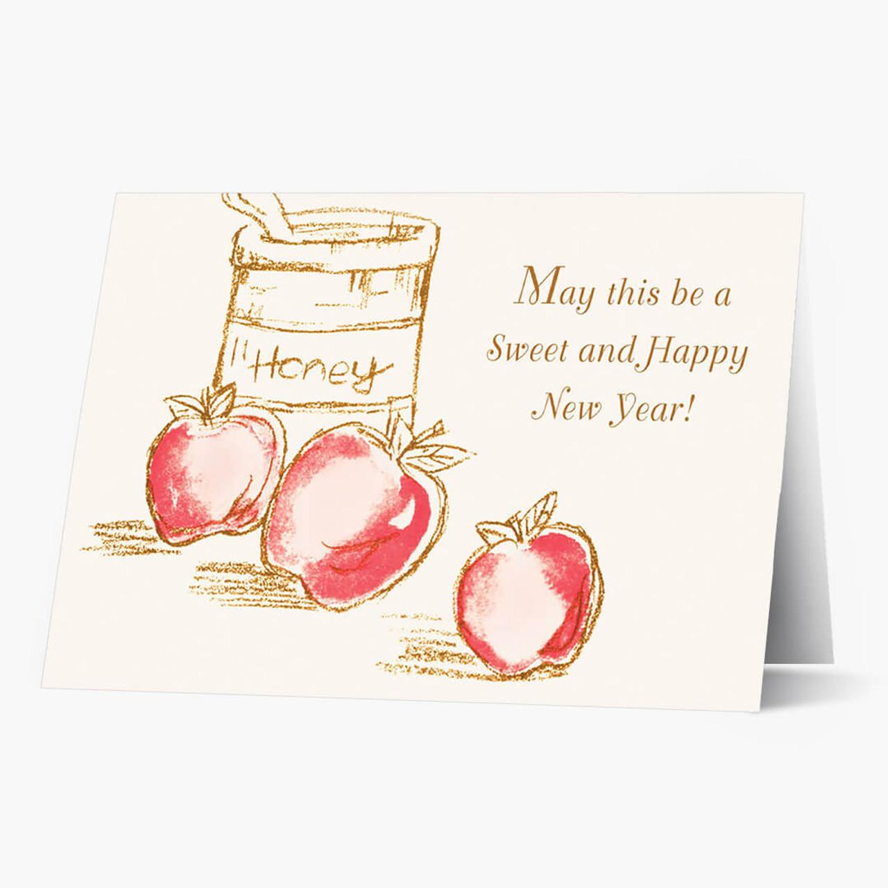 Sweet New Year Rosh Hashanah Card