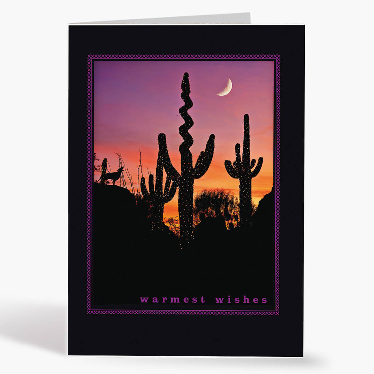 Desert Scene Christmas Card