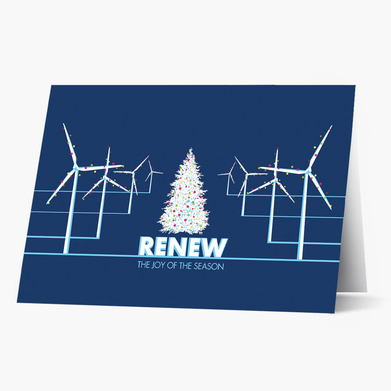 Christmas Windmills Card