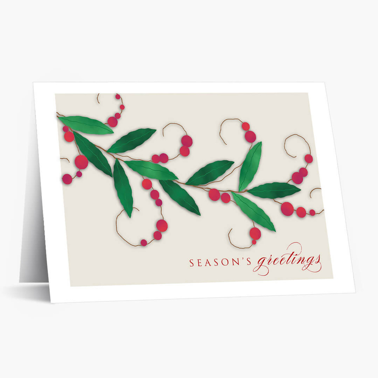 Berry Blessed Christmas Card