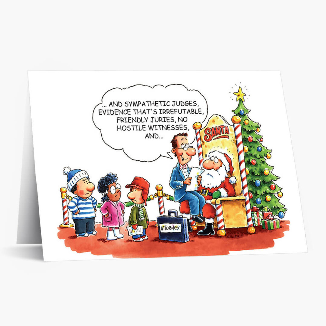 Attorney's Wish List Christmas Card