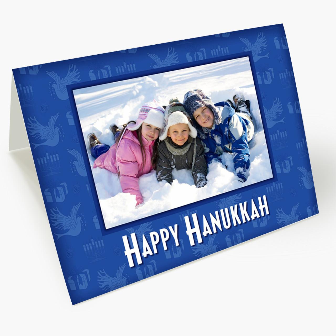 Hanukkah Photo Card - Matte Finish