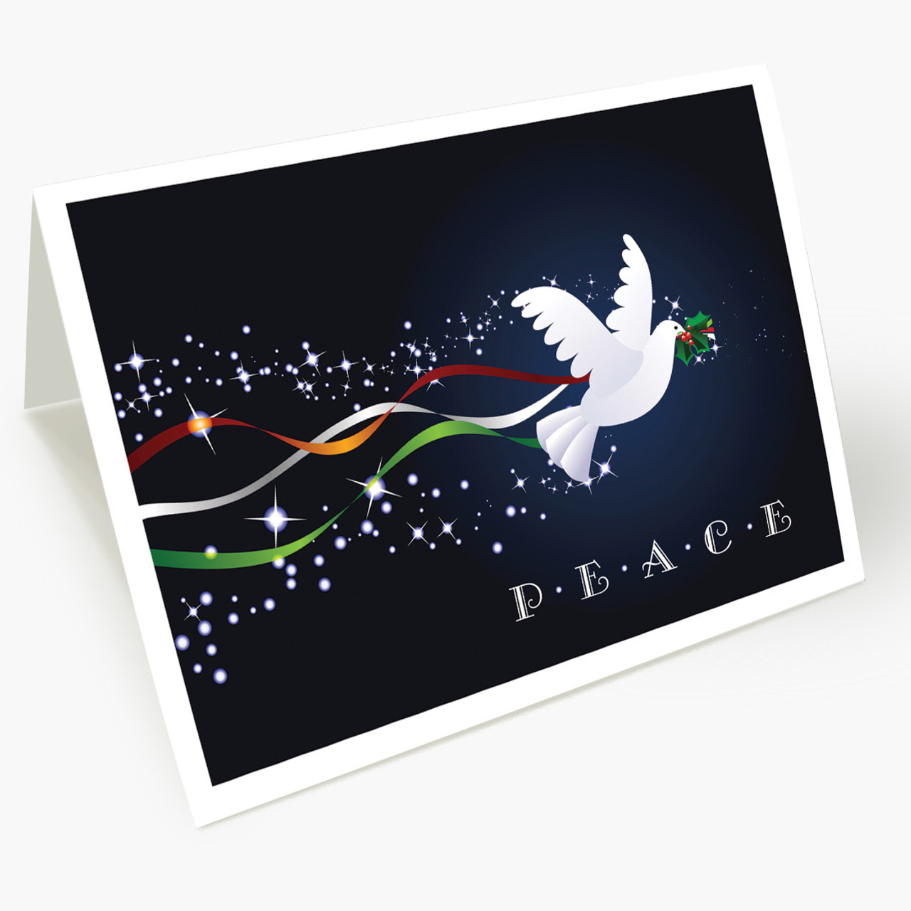 Ribbons of Peace Christmas Card