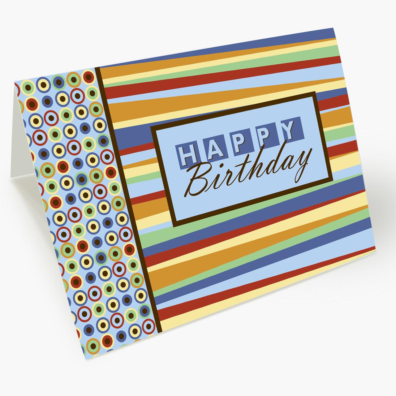 Mod Happy Birthday Card