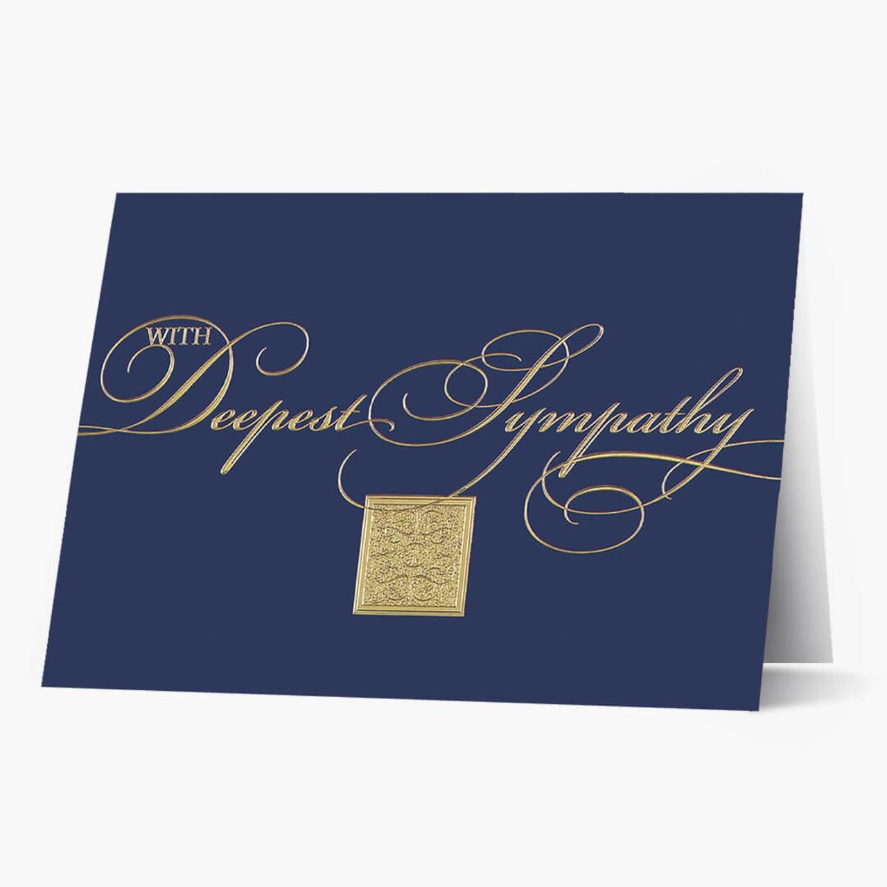 Royal Sympathies Card