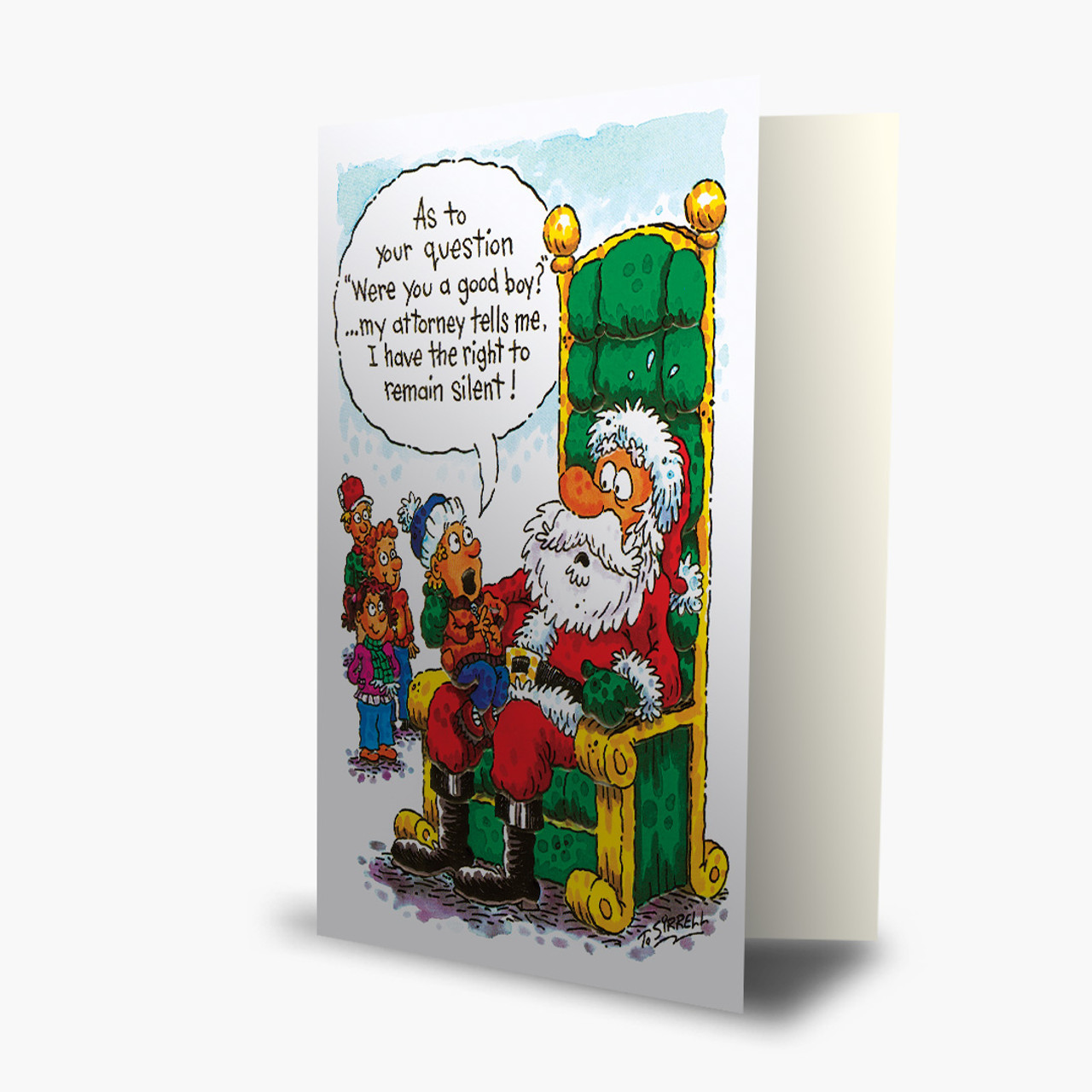 Remain Silent Christmas Card