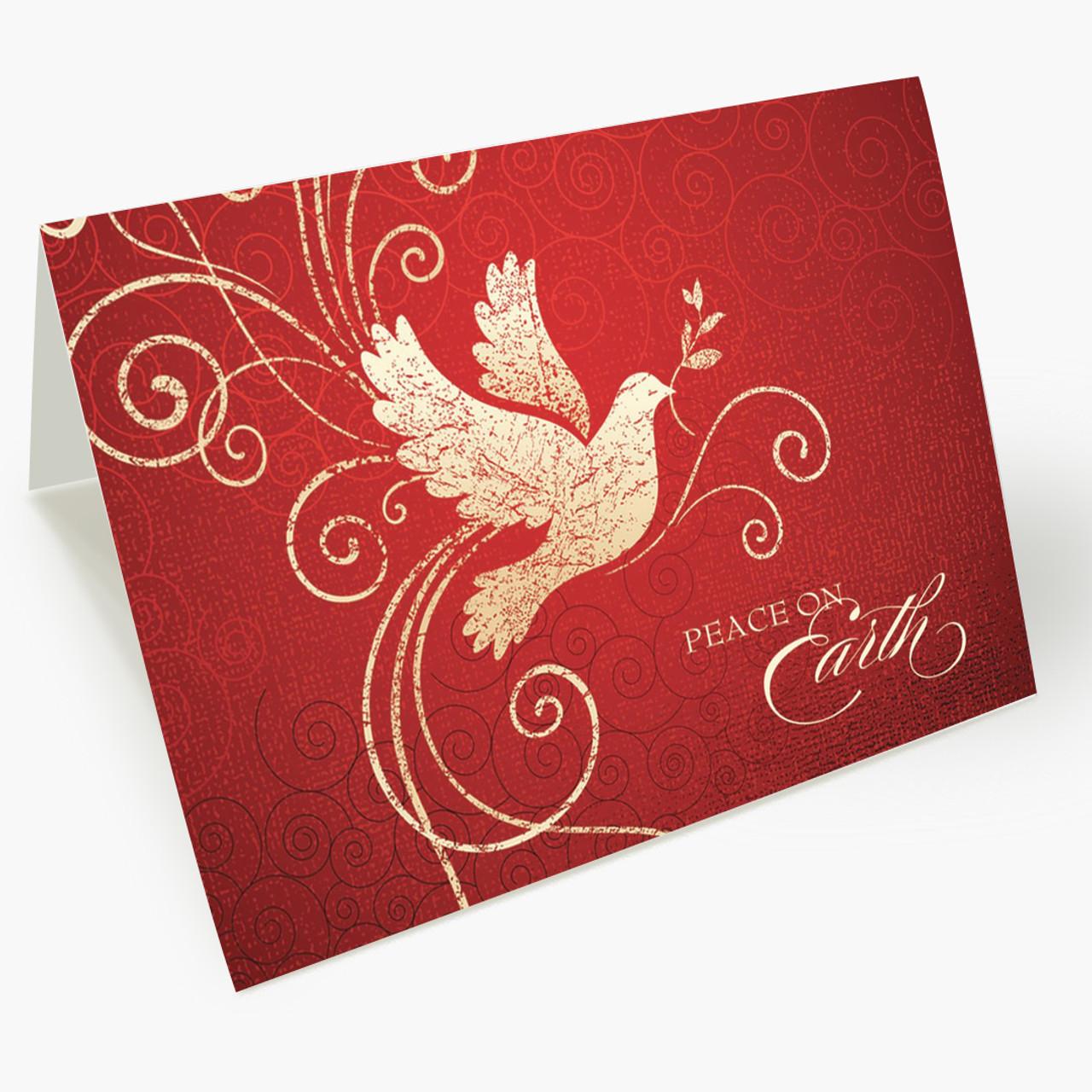 A Peaceful Dove  Christmas Card