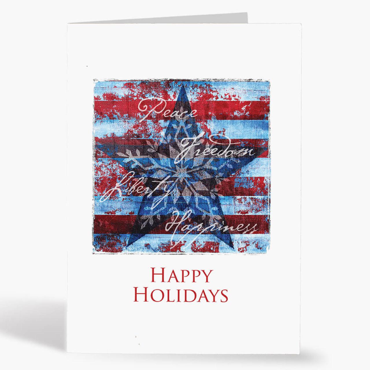 Freedom  Christmas Card