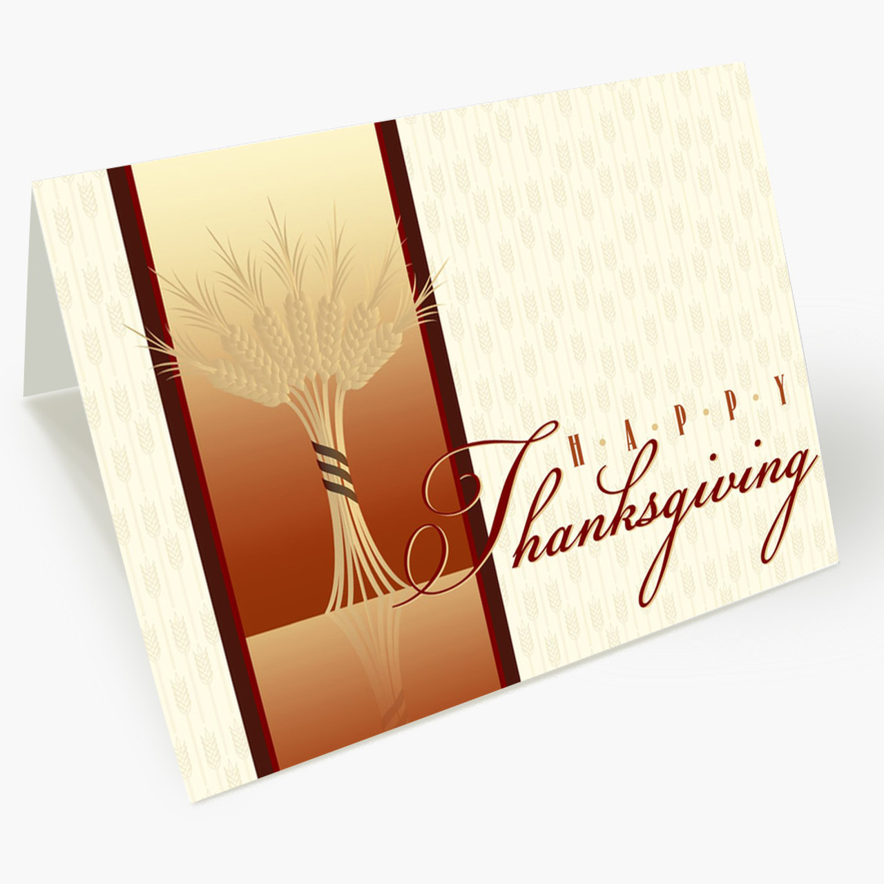 Bountiful Harvest Thanksgiving Card