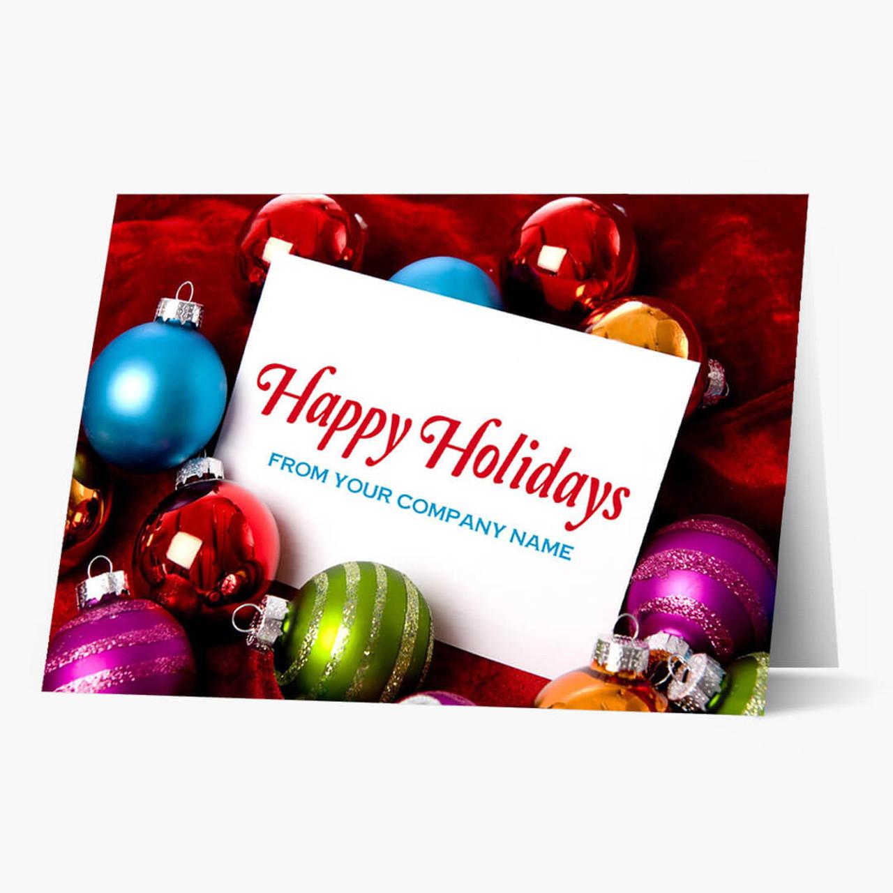 Ornamental Greetings  Christmas Card