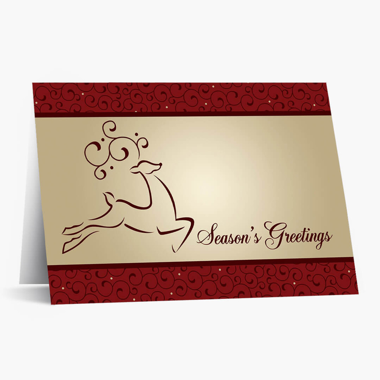 Prancing Christmas Card