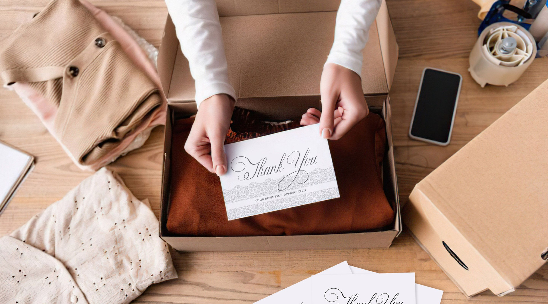 Use Bulk Thank You Cards to Promote Your Business
