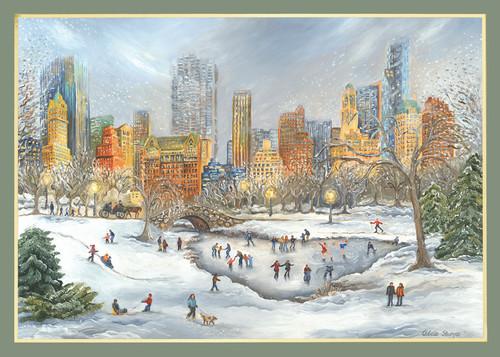 New York Holiday Scenes Christmas Cards City Scenes Christmas Cards
