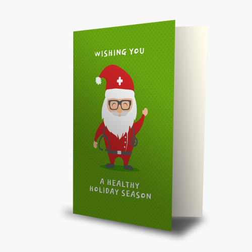 Medical Themed Christmas Cards Holiday Cards For Causes