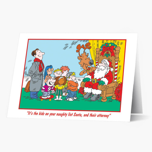 legal greetings  attorney  lawyer christmas cards