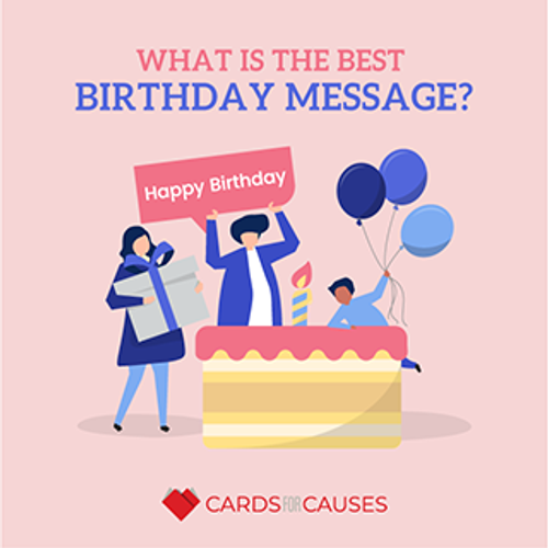 What is the best birthday message?