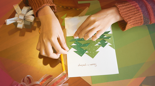 Not All Holiday Cards Are Sentimental And Serious