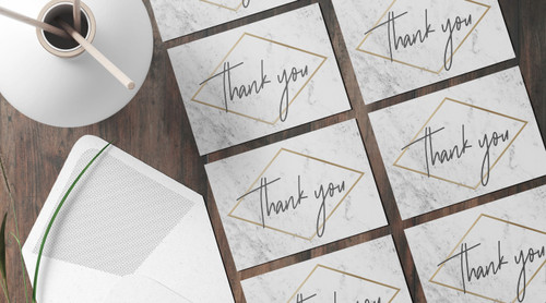 Where to Buy Thank You Cards in Bulk