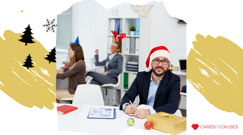 Business Christmas Cards to Spread Company Cheer and Gratitude