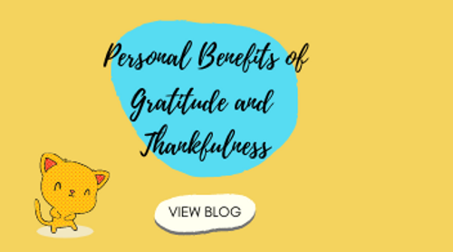 Personal Benefits of Gratitude and Thankfulness
