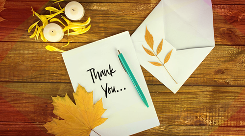 How and Why to Write a Thank You Card for Thanksgiving