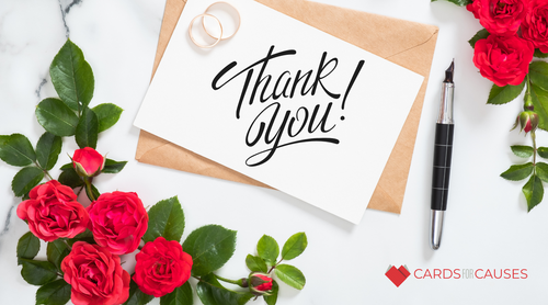 Who to Thank after a Wedding