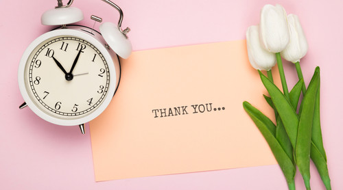 When to Send a Thank  You Note