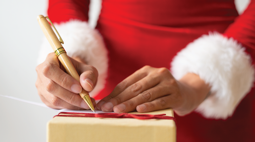 How to write a nice Christmas message?