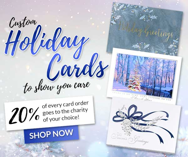 Best Charity Christmas Cards 2020 Us Cards For Causes | Custom Greeting Cards, Christmas Cards & More