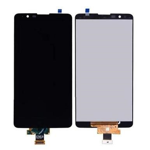 LG Stylo 2 Plus LCD Display Touch Screen Glass Lens Digitizer Assembly Black