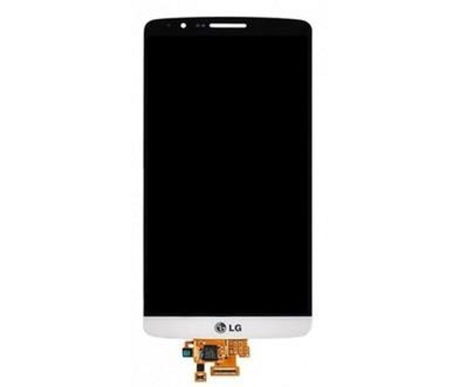 White LCD Display Touch Screen Glass Digitizer Assembly for LG G3 ( D850 D851 VS985 LS990 )