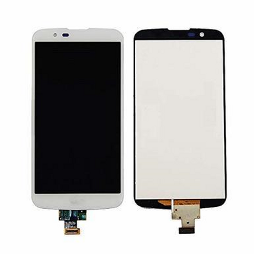 LG K10 LCD Display Touch Screen Glass Lens Digitizer - White
