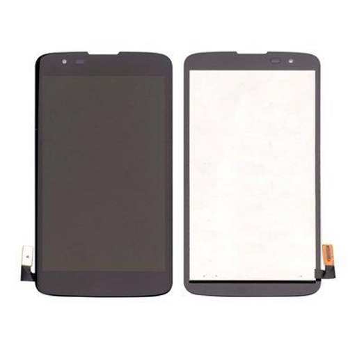 LG K7 LCD Display Touch Screen Glass Lens Digitizer Assembly, Black