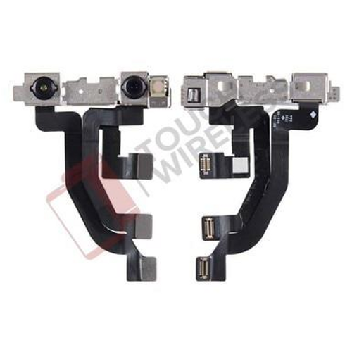 IPHONE X FRONT CAMERA WITH SENSOR FLEX CABLE ORIGINAL ( PULLED )