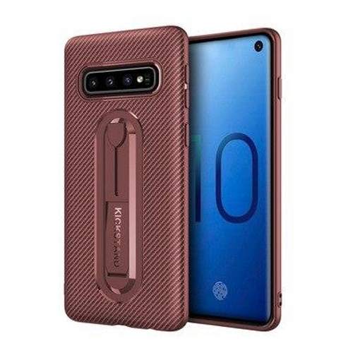 Ultra-thin stealth bracket case for Galaxy S9 Plus, Brown