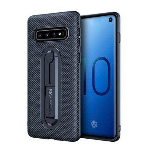 Ultra-thin stealth bracket case for Galaxy S10, Blue