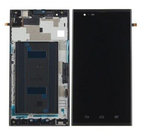 ZTE MAX PRO Z970 LCD DISPLAY ASSEMBLY WITH FRAME