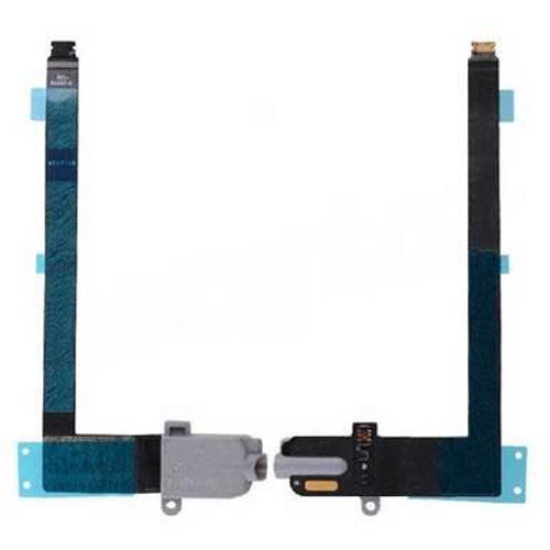 Earphone Jack with Flex Cable for iPad Pro (9.7inches) - Black