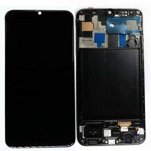 GALAXY A50 ( A505 ) 2019 OLED Screen & Digitizer Assembly with frame