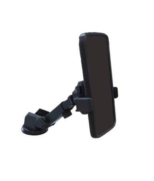 Black, BS01 Mobile Stand for Car ( Suction Cup )