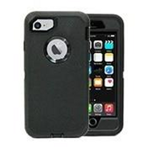 Black & Black iPhone 7/ iPhone 8/SE 2020 Pro Case With Holster.
