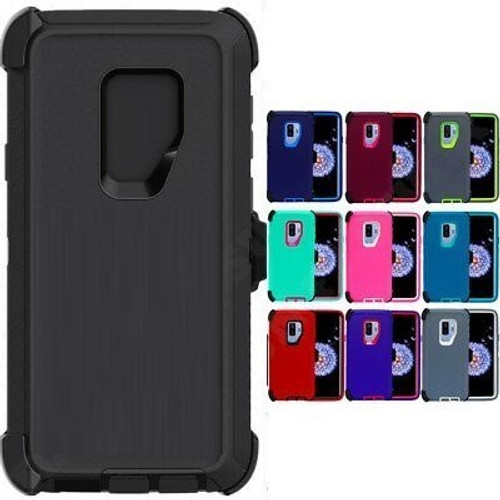 Samsung S9 - Pro Case With Holster