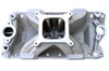 BMP 061041 SBC Intake Manifold 4150 Carb Flangefor Chevy Bowtie Vortec series Heads